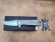 Boker Kihon, Stonewashed Titanium Folder