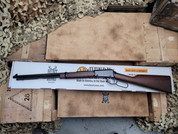 Henry Lever Action .22 Octagon Barrel. Black and American Walnut