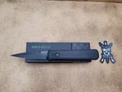 Pro-Tech Godfather SWAT all Black, Plain Edge