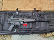 "H&K SP5L Semi-Automatic Pistol with 16"" barrel."