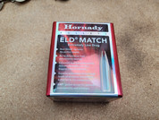 Hornady ELD Match 6.5mm 130 Grain Bullets Box of 100