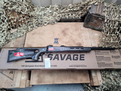 "Savage 110 6.5 Creedmoor Heavy Contour 22"" Barrel With Thumb Hole Stock"