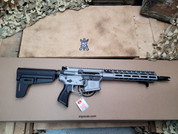 "Sig Sauer M400 Switchblade 5.56 pistol 11.5"" Barrel, Titanium Cerakote"