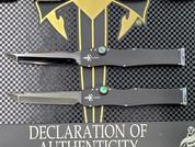 Marfione Custom Knives Halo III Mini Set, Serial Number 032