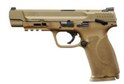 """S&W M&P 2.0 9mm 5"""" FDE Thumb Safety"""