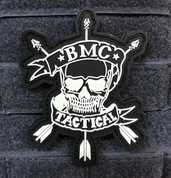 BMC Tactical Logo Patch, Glow in the dark