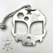 Vice and Anvil Alien Cranium tool (stonewashed aluminum)