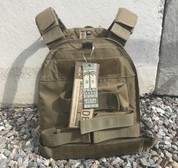 US Palm Defender Plate carrier with soft armor Coyote (pistol set up)