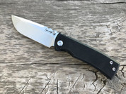 Chaves Ultramar Redencion Drop Point G10/Ti machine finish blade