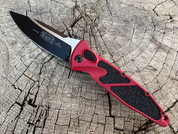 Microtech Socom Elite auto Red tactical Free Ship