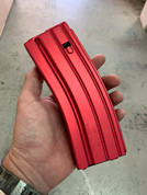 DuraMag 5.56/300blk 30rnd magazine for AR15 RED Anodized