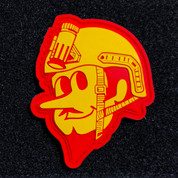 Duke City Operator Yellow and Red PVC patch
