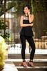 Girl Boss Black Peplum waist Jumpsuit