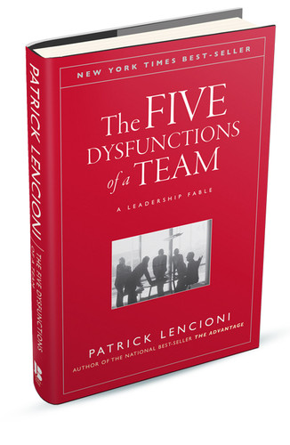The Five Dysfunctions of a Team book 2019 cover