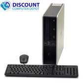 HP Desktop Computer Windows 10 FAST Dual Core 2.4 GHz 4GB RAM 250GB HDD DVD WiFi