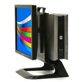 """Dell All-In-One Desktop Computer PC Windows 10 Core 2 Duo 4GB 160GB 17"""" LCD, WiFi"""