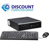 HP 8000 Elite Desktop Computer Windows 10 Pro PC C2D 3.00GHz 8GB 1TB DVDRW WiFi