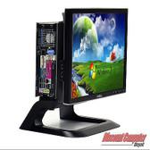 "Dell Optiplex OP 755 Desktop 3.0 GHz Core 2 Duo PC 4GB 160GB Windows 10 Pro 17"" LCD"
