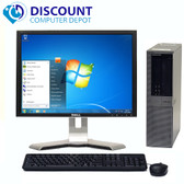 "Dell Optiplex 960 Windows 10 Pro Desktop 3.0GHz Core 2 Duo 4GB 160GB 17"" LCD"