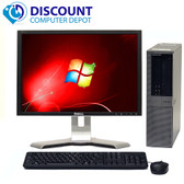 Dell Optiplex 960 Windows 10 Desktop Computer 3.0GHz  Core 2 Duo 4GB 160GB 17 LCD