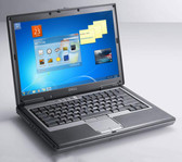 Fast Dell Latitude Windows 10 Laptop Computer 1.8GHZ Core 2 Duo 80GB HDD DVD WiFi