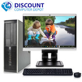 "HP Elite Business Desktop PC C2D 3.0GHz 4GB 160GB 19"" LCD Wifi Windows 10 Pro"