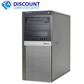Dell Optiplex 960 Tower Windows 10 Pro 3.0GHz Core 2 Duo Desktop Computer 4GB 1TB