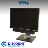 "Dell 19"" LCD Monitor Ultrasharp Widescreen 1909W W/Dell Soundbar, Power Cable and VGA Cable"