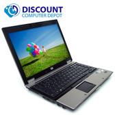 "HP Elitebook 6930P 14.1"" Core 2 Duo Laptop Windows 10 Home 4GB Ram 320GB Hard Drive DVDRW WiFi"