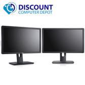 """Dell Dual Screen Professional Widescreen LCD Monitors 22"""" (Grade A)"""