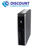HP 8000 Elite Small Thin Desktop Computer PC C2D 3.0GHz 4GB 80GB Windows 10