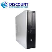 Fast HP Core 2 Duo Windows 10 Pro Desktop Computer PC 4GB 1TB DVD-RW