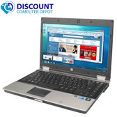 HP Elitebook 8440p i5 2.40 GHz 4GB 250GB Windows 10 Professional  Laptop Computer Webcam