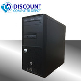 Custom Desktop Computer Intel Dual Core 2.0GHz 4GB 80GB Windows 10