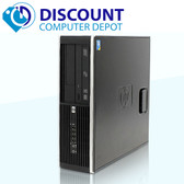 HP 6000 Desktop Computer C2D 2.66GHz 8GB 1TB Windows 10 Pro Dual Monitor Ready