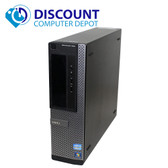 Dell Optiplex 390 Desktop Computer PC Intel I3 3.3GHz 4GB 120GB SSD Windows 10
