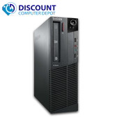Fast Lenovo M81 Windows 10 Pro Desktop Computer PC Intel Core i3.3GHz 4GB 320GB