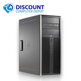 HP 8000 Elite Desktop Computer PC Tower Intel C2D 3.0GHz 8GB 1TB Windows 10 Pro