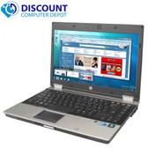 HP Elitebook 2540p i7 2.10 GHz 4GB 120GB SSD Windows 10 Professional  Laptop Computer Webcam
