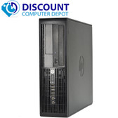FAST HP 4000 Desktop Computer Windows 10 PC Intel Dual Core 4GB DVD