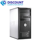 Fast Dell Optiplex Desktop Computer Tower PC C2D 2.13GHz 4GB Windows 10 Pro