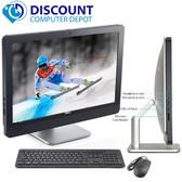 """Dell 9010 23"""" AIO Desktop Computer PC Quad i7 3.1GHz 4GB 250GB Windows 10 Pro"""