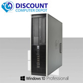 cPC Assy HP 6005 Pro Desktop Athlon II 2.80GHz 4GB 250GB DVD-RW Win10-64 Home (NO Key-Mice)
