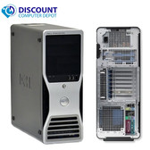 Dell Precision T7500 Win 10 Pro Workstation Computer Quad Core Xeon 8gb 1TB