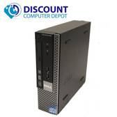Dell 990 USFF Desktop Computer PC Core i5 2.5GHz 4GB 250GB  Windows 10 Pro WiFi