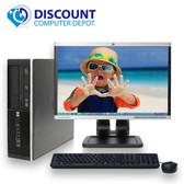 "HP 6305 Pro Desktop Computer PC AMD 3.2GHz 4GB 1TB DVD 19""LCD Windows 10 Pro"