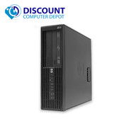 HP Z200 Workstation Windows 10 Pro Desktop Computer PC i3 2.93GHz 8GB 500GB