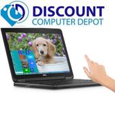 Dell Latitude E7240 Laptop PC Intel i7-4600U 8GB 256GB SSD Windows 10 Pro Touch