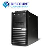 Acer Veriton Windows 10 Tower Desktop Computer PC Intel Core i3 3.2Ghz 4GB 320GB