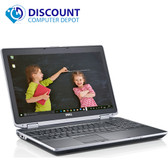 """Dell Latitude E6520 Windows 10 Pro 15.6"""" Laptop PC Quad i7 2.4GHz 4GB 500GB"""